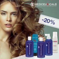 Медисютикалс - решения за всеки проблем на косата - 20 %
