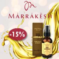 Течното злато на Marrakesh с 15 % отстъпка до края на януари