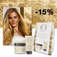 - 15 % на комплект за коса и ръце Olioseta Oro Di Luce, обогатен с ленено семе и пшенични протеини