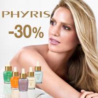 30% ОТСТЪПКА на всички серуми и маски PHYRIS