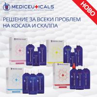 НОВО! Комплекти от Mediceuticals с решение за всеки проблем на косата и скалпа!