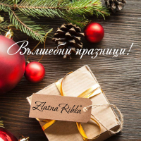 Весели празници от Златна рибка! Благодарим ви за всичко!