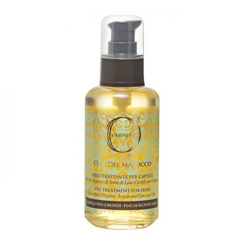 Арганово олио за подхранване за фина или руса коса 100 мл Olioseta Oro Del Marocco