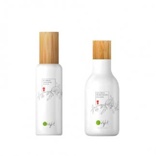 Дуо почистваща пяна за лице 160 мл и Подхранващ тоник за лице 180 мл Oright Skin Care Goji Berry