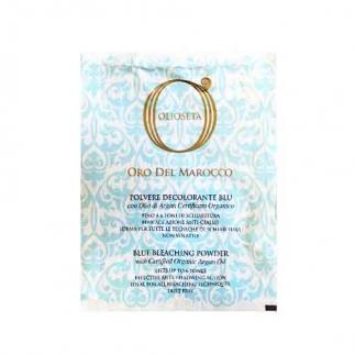 Изсветляваща пудра 30 гр Olioseta Oro Del Marocco Blue Bleaching Powder