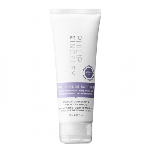 Шампоан за интензивно неутрализиране на топли нюанси 75 мл Philip Kingsley Pure Blonde Booster Colour-Correcting Weekly Shampoo