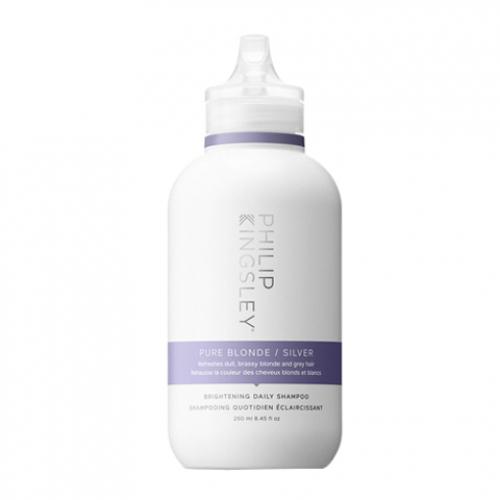 Тониращ шампоан за студени руси нюанси 250 мл Philip Kingsley Pure Blonde Silver Brightening Daily Shampoo