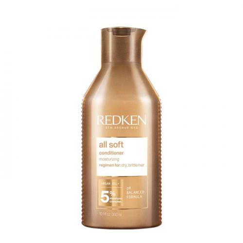 Омекотяващ балсам с арганово масло за нормална до суха коса 300 мл Redken All Soft Conditioner