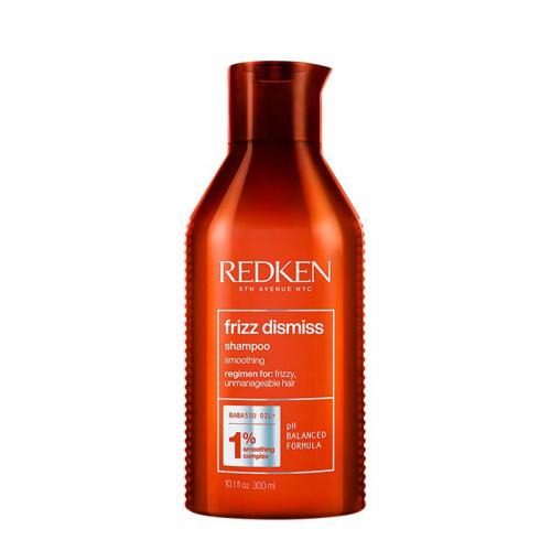 Изглаждащ шампоан за непокорна коса 300 мл Redken Frizz Dismiss Shampoo