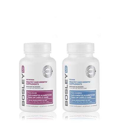 Healthy Hair Growth Supplements Хранителни добавки против косопад за мъже и жени