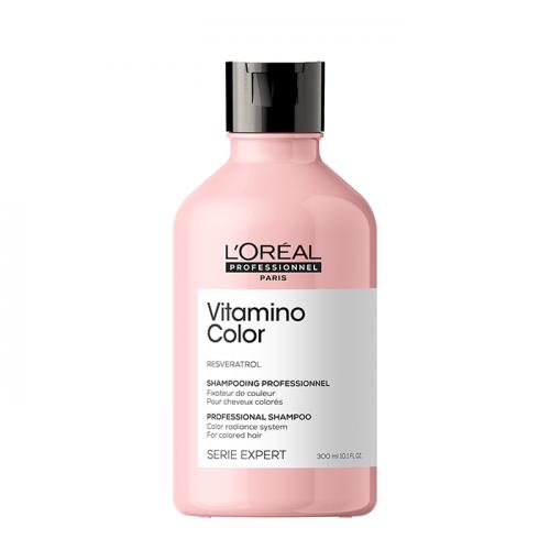Озаряващ и подсилващ шампоан за боядисана коса Loreal Professionnel Vitamino Color Resveratrol 300 мл