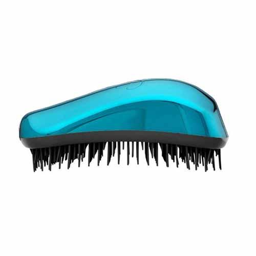Четка за коса Dessata Bright Тюркоаз / Метално Черно