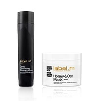 Honey & Oat  За суха коса