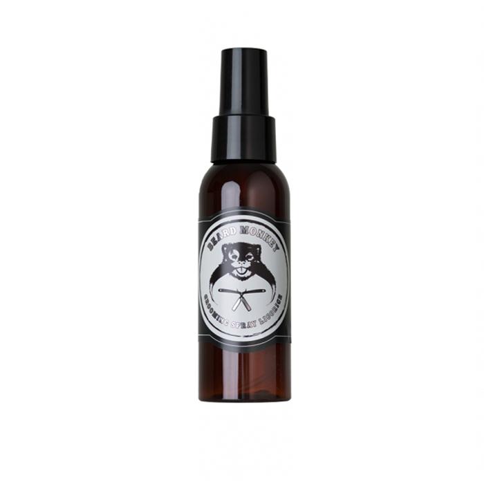 Стилизиращ спрей за мъже Beard Monkey с аромат на сладък корен 100 мл