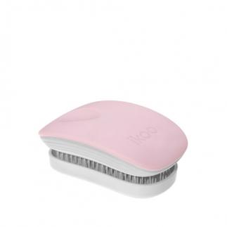 Компактна четка с капаче IKOO Cotton Candy Pocket (бяла основа)