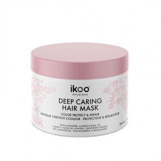 Маска за боядисана и изтощена коса 200 мл IKOO Deep Caring Mask - Color Protect and Repair
