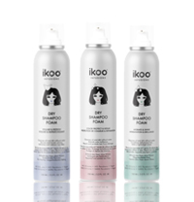 IKOO Dry Shampoo Foam Сухи шампоани