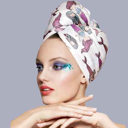 Дизайнерска кърпа за коса Aglique Dream сатенен