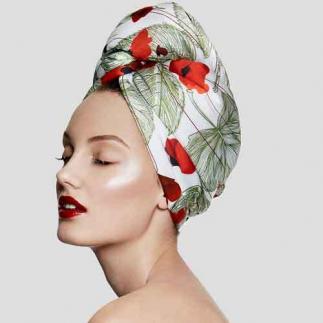 Дизайнерска кърпа за коса Aglique March сатенена