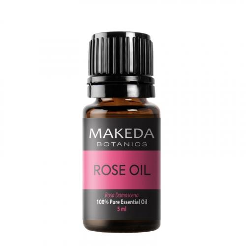 Етерично масло MAKEDA Botanics Роза Дамасцена (ROSE)  терапевтичен клас 5 мл