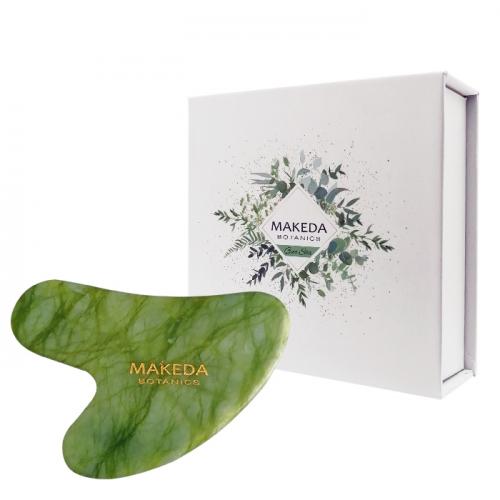 Масажен камък Гуа ша НЕФРИТ MAKEDA Botanics
